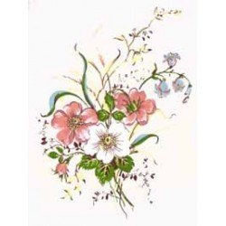 ** SALE 50% OFF HEDGEROW 84X54MM (20) GLASS FIRING