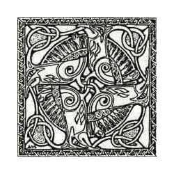 ** SALE 50% OFF Celtic Square 100mm (1)