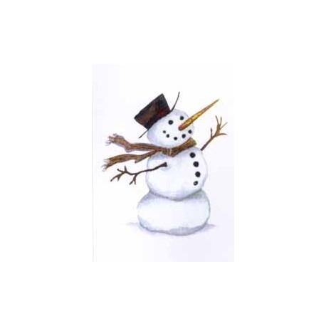 HAPPY SNOWMAN 75mm