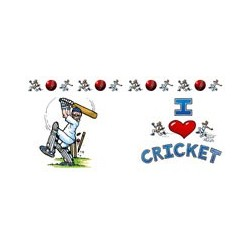 I Love Sports Mug - Cricket