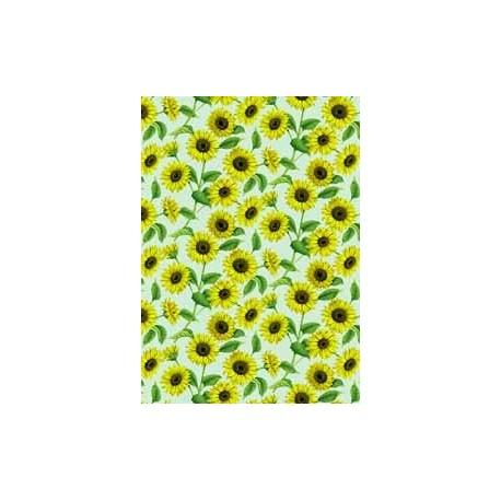 Sunflower Chintz Green