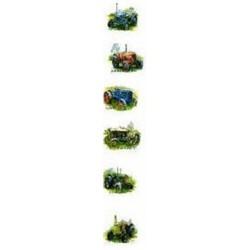 Tractors 25mm set of 6