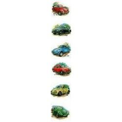 VW Beetles 25mm set of 6