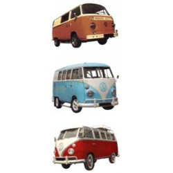 VW VAN 40mm set of 3