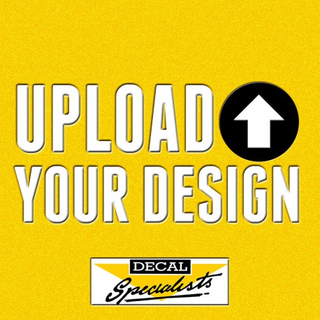 Custom decal upload your design