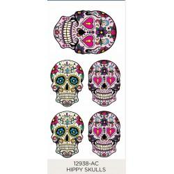 Hippy Skulls 4x54mm 1x74mm (5)