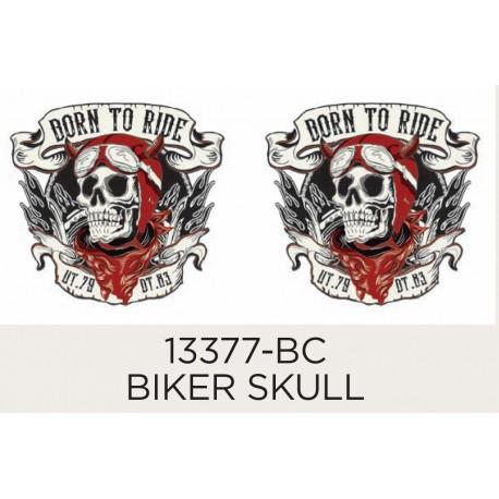 Biker Skull 42mm (2)