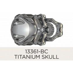Titanium Skull 60mm (1)