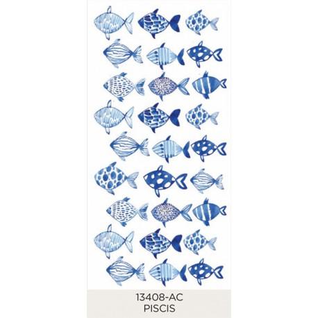 Piscis - Fish 25x22mm (27)