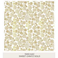 Sweet Chintz Gold 185x185mm
