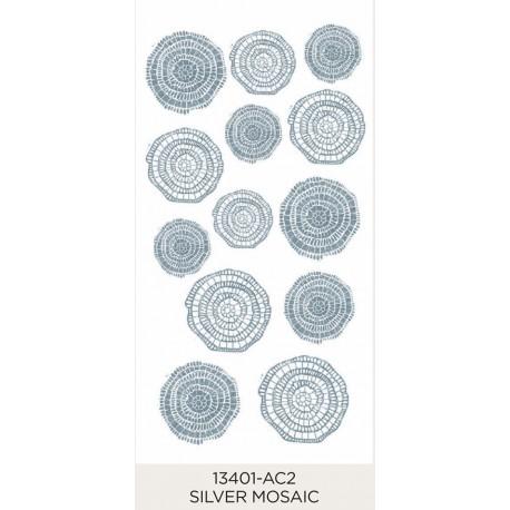 Silver Mosaic 25-40mm (13)