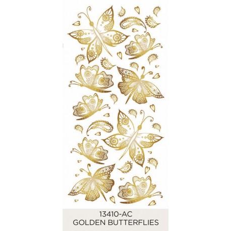 Golden Butterflies 30-50mm (9)