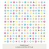 Louis Vuiton Style 185x185mm