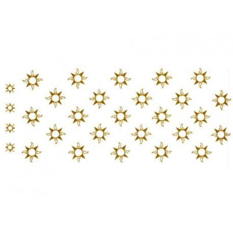 Gold Stars Mugwrap C