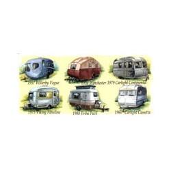 Camping Caravans Mug Wrap
