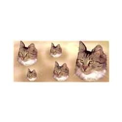 Cat Mugwrap Tricolour Longhair