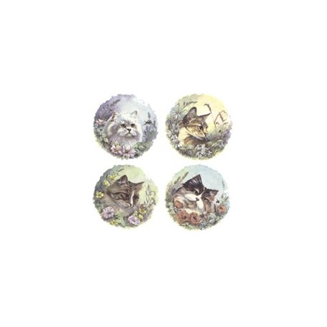 CATS (SET OF 4) 11048-150